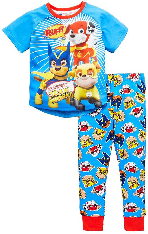 Paw Patrol Boys Short Sleeve Pyjamas