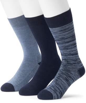 Marc Anthony Men's 3-pack Comfort Cuff Crew Socks