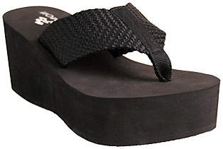 NOMAD Tide Thong Wedge Sandals