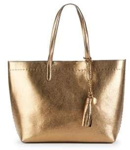 Cole Haan Payson Metallic Leather Tote