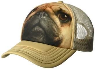 733c4162f6b The Mountain Men s Pug Face Foam Trucker Hat