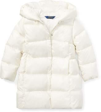 Ralph Lauren Long Hooded Down Jacket