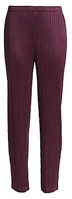 Pleats Please Issey Miyake Women's Monthly Colors September Pants
