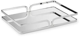 Williams-Sonoma Spiros Rectangular Tray, Polished Nickel