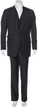 Tom Ford Plaid Wool Suit
