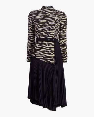 A.L.C. Peyton Belted Midi Dress