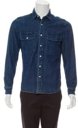 Shipley & Halmos Denim Button-Up Shirt