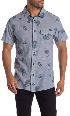Lost The Rosebowl Short Sleeve Woven Modern Fit Shirt