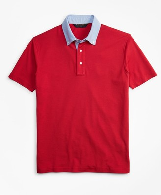 Brooks Brothers Slim Fit Oxford Collar Polo Shirt