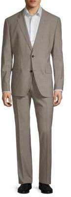 HUGO BOSS Two-Button Wool Suit