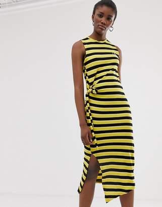Cheap Monday organic cotton stripe tank dress