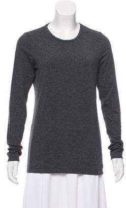 White + Warren Crew Neck Long Sleeve Top