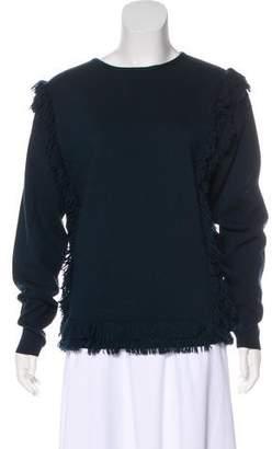 Chloé Frayed Knit Sweater