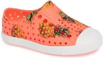Native Jefferson Pineapple Print Water Friendly Sneaker