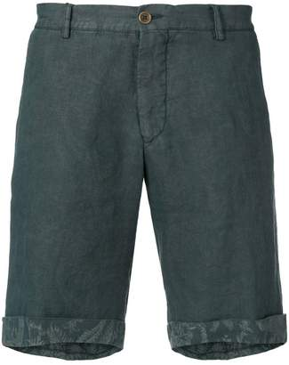 Etro chino turn up shorts