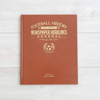 My 1st Years Personalised Football History Book