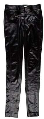 Diane von Furstenberg Faux Leather Skinny Pants