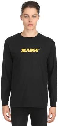 XLarge X Large OG LOCKUP JERSEY LONG SLEEVE T-SHIRT