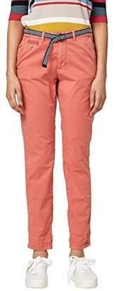 Esprit Women's 038ee1b001 Trouser, (Light Pink 690), (Size: 36)