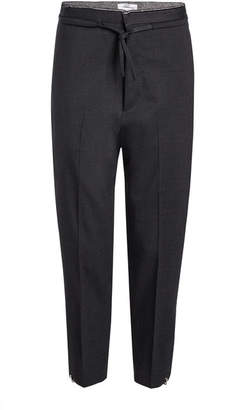 Oamc Post Cropped Pants with Wool