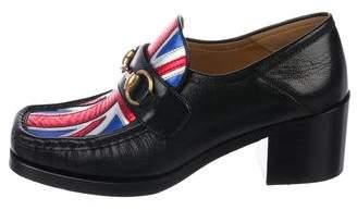 Gucci Union Jack Horsebit Loafers