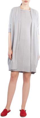 Akris Knit Cashmere Coat Cardigan