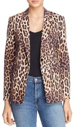 Olivaceous Leopard Print Blazer