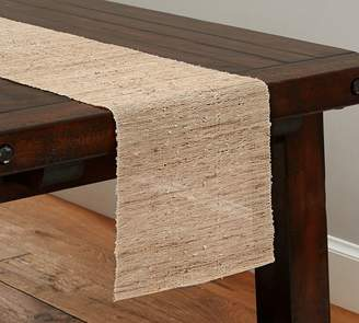 Pottery Barn Nubby Table Runner
