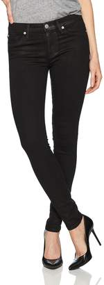 Hudson Jeans Women's Nico Midrise Super Skinny Coated