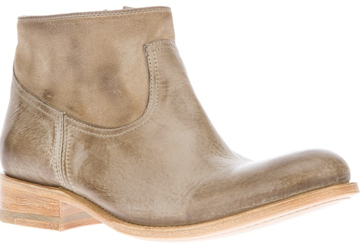 N.D.C. Made By Hand zipped ankle boot