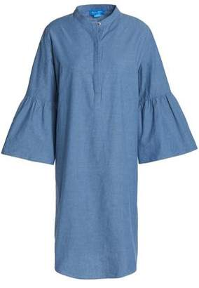 MiH Jeans Beck Cotton-Chambray Dress