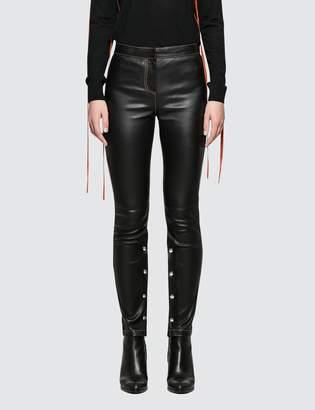 Loewe Lambskin Leather Leggings