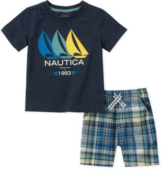 Nautica Little Boys' Tee with Shorts