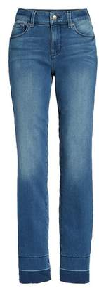 NYDJ Marilyn Release Hem Stretch Straight Leg Jeans
