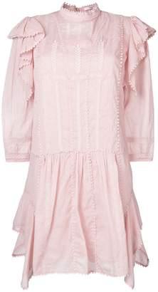 Etoile Isabel Marant short embroidered dress