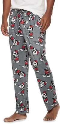 Men's Disney Santa Mickey Mouse Lounge Pants