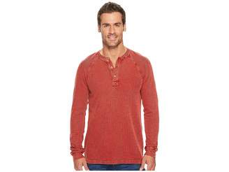 Ecoths Maxwell Henley Top Men's Long Sleeve Pullover