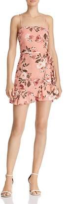 Cotton Candy Floral Mini Dress