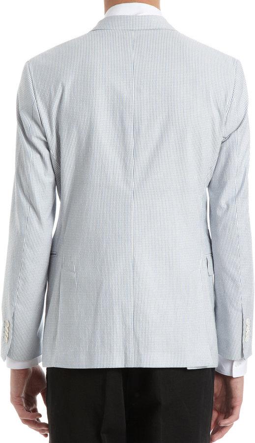 Barneys New York Seersucker Jacket