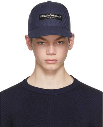 Dolce & Gabbana Navy Logo Cap