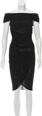 CelineCéline Ruched Bodycon Dress