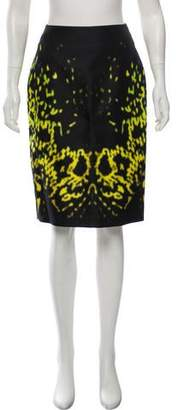Josh Goot Printed Silk Skirt