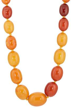Stephanie Windsor Antiques Women's Amber Beaded Necklace
