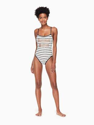Kate Spade Stinson beach one-piece swimsuit