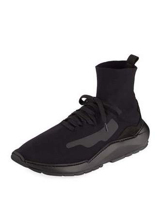 Filling Pieces Men's Mid-Top Knit Arch Running Sneakers