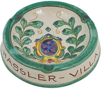 One Kings Lane Vintage Deruta Italian Pottery Ashtray - G3Q Designs
