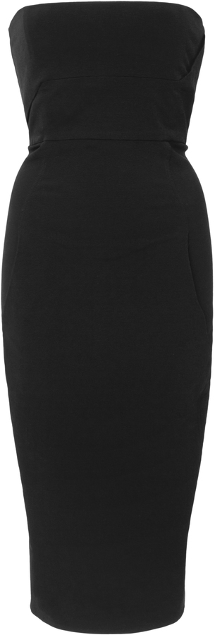 Strapless Pencil Dress - ShopStyle Australia