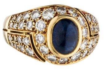Bvlgari Bvlgari Sapphire & Diamond Ring