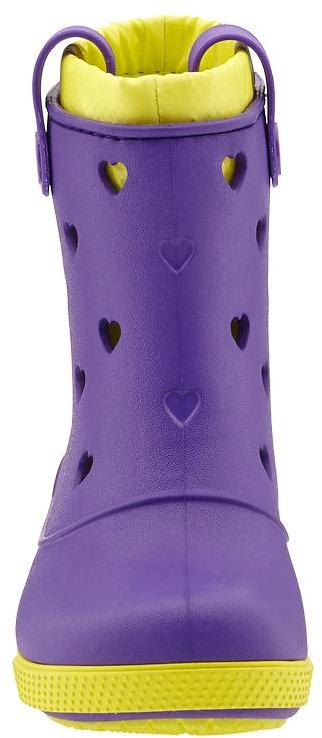 Crocs Crocband Hearts Boot (Toddler/Youth)