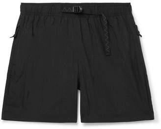 Nike Acg 2.4 Wide-leg Shell Shorts - Black
